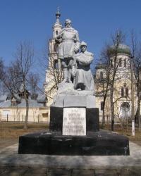 г.Семеновка. Группа могил участников гражданской войны и советских активистов