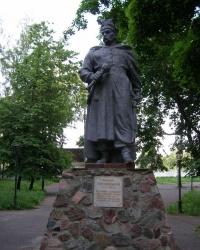 Памятник Богдану Хмельницкому в Борзне