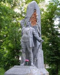Братская могила участников Гражданской войны в Борзне.
