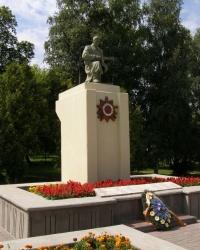 г.Гомель. Братская могила в студенческом парке.