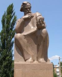Памятник академику В.И.Вернадскому в Киеве