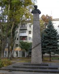 г.Житомир. Памятник Герою Советского Союза Г.И.Шелушкову