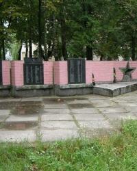 с. Анисов. Памятный знак погибшим односельчанам.