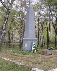 г. Чернигов. Братская могила мирных жителей в Березовом Гаю.
