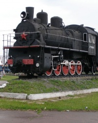 г.Бахмач. Памятный знак железнодорожникам