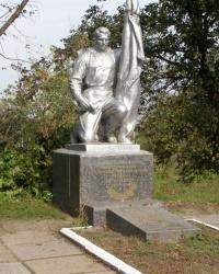 м. Бобровиця. Братська могила на пагорбі Слави.
