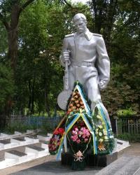 г.Чернигов. Братская могила на старом кладбище.