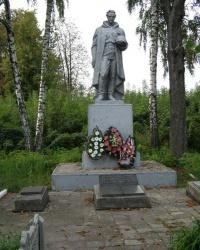 пгт Дмитровка. Братская могила.