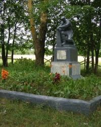 пгт Добрянка. Братская могила воинов