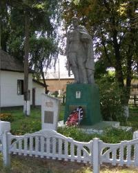 с.Дремайловка. Братская могила.
