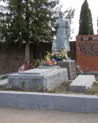 г.Ромны. Братская могила на ул.Дудина.