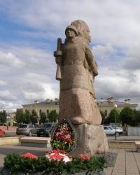 г.Гатчина. Памятник защитникам и освободителям Гатчины