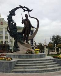 м.Ірпінь. Пам'ятник Т.Г.Шевченку.