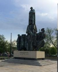 м. Краків. Пам'ятник Станіславу Виспянському.