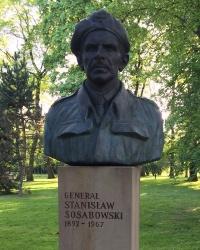 м. Краків. Погруддя Станіслава Сосабовського.