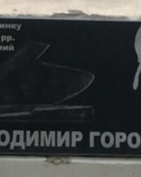 м. Київ. Меморіальна дошка В.С.Горовицю.