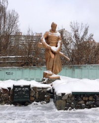 м. Київ. Братська могила на вул. Єфремова.