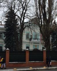 м. Київ. Колишній будинок командувача військами округу.