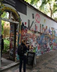 м. Прага. Стіна Джона Леннона.