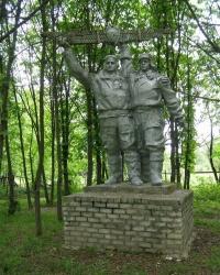 Странный памятник в селе Каменка