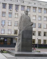 Житомир. Памятник С.П.Королеву.