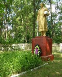 с. Красковское. Братская могила.
