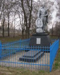 с. Красносільське. Братська могила.