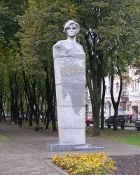 г.Полтава. Памятник непокоренным полтавчанам.