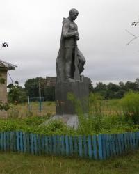 с.Лукашовка. Памятный знак погибшим односельчанам