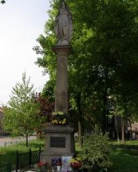 м. Краків. Скульптура Матері Божої на Подгуже.