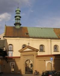 м. Краків. Костел і монастир сестер-бернардинок
