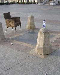 м. Краків. Плита Костюшка на Ринковій площі.