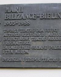 м. Краків. Меморіальна дошка Марії Біліжанці-Белінській.