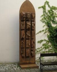 м. Краків. Пам'ятник королю Казимежу Великому.