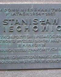 м. Краків. Меморіальна дошка Станіславу Віховичу.