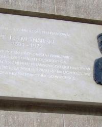 м. Краків. Меморіальна дошка Феліксу Млинарському.
