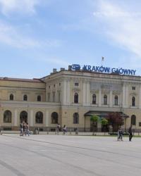 м. Краків. Старий залізничний вокзал.