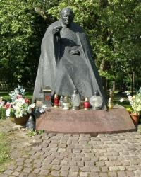 м. Краків. Пам'ятник Іоанну Павлу ІІ в Стрілецькому парку