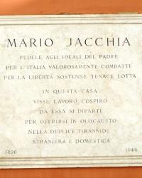 м. Болонья. Меморіальна дошка Маріо Яккіа.