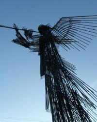 Мемориальный комплекс «Звезда Полынь».Третий ангел вострубил...