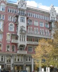 м. Київ. Будинок № 6 по вул. Заньковецької
