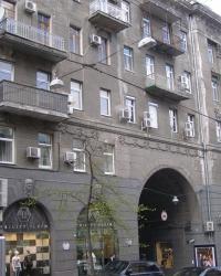 м. Київ. Будинок № 4 по вул. Заньковецької