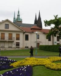 м. Прага. Президентський будинок.