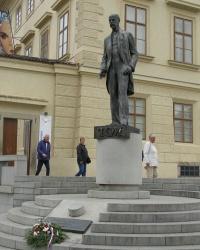 м. Прага. Пам'ятник Т.Г.Масарику.