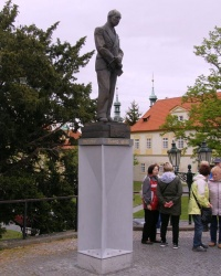 м. Прага. Пам'ятник Едуарду Бенешу.