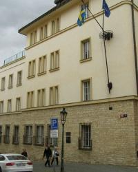 м. Прага. Амбасада Швеції.