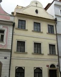 м. Прага. Будинок «У чорного хреста».