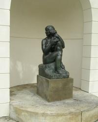 м. Прага. Скульптура «Єва».