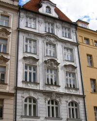 м. Прага. Будинок «У червоного орла» в Старому Місті.