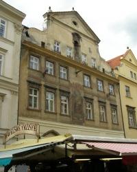 м. Прага. Будинок «У золотих терезів» в Старому Місті.